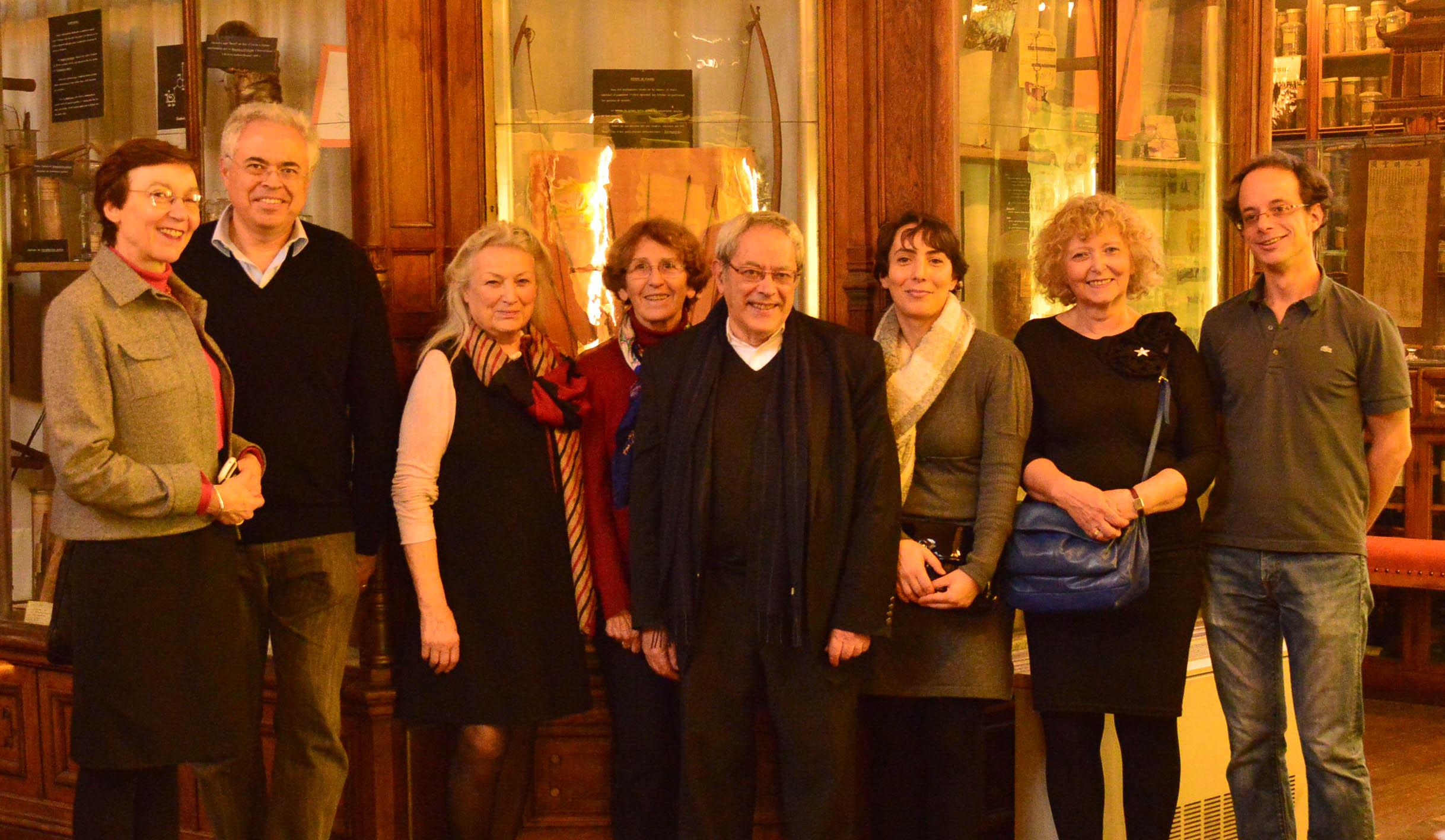comité de rédaction décembre 2015 Musée F. Tillequin Faculté Pharmacie Paris Descartes
